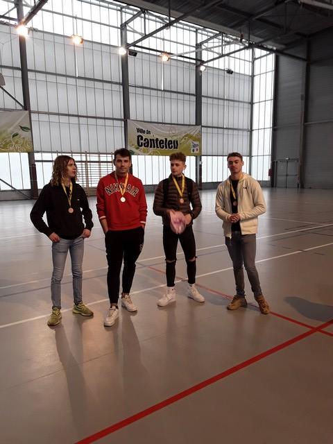 Finale académique de badminton