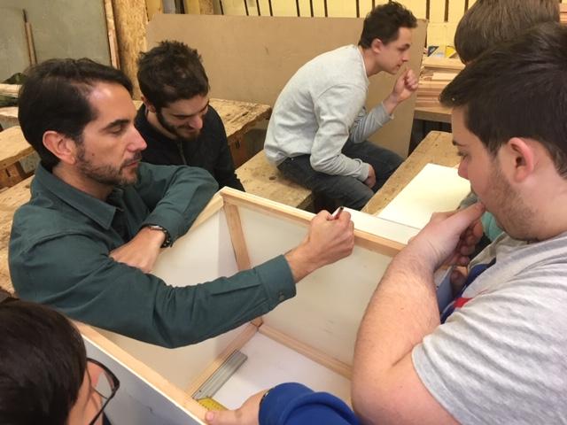 Projet artistique dans le cadre des cours d'Éducation Socio-Culturelle