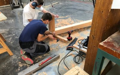 Une semaine productive pour la classe de 1ère Technicien Constructeur Bois